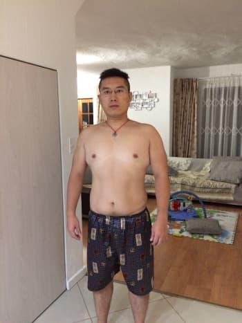 Jan. 2017. Weight: 84.5 kg