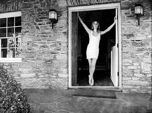 Sharon Tate in the Home Where She Was Murdered
