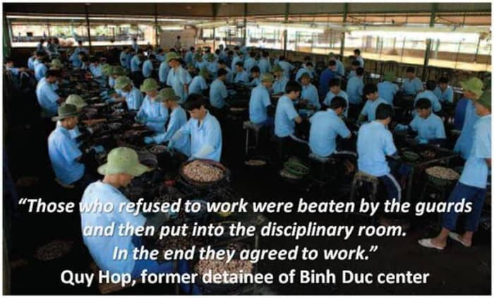 """There are over 120 """"drug rehabilitation clinics"""" in Vietnam that are trapping over 40,000 drug addicts in forced labor camps."""