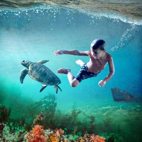 Underwater pixie