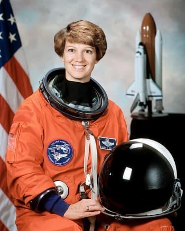 STS-93 Commander, Colonel Eileen M. Collins