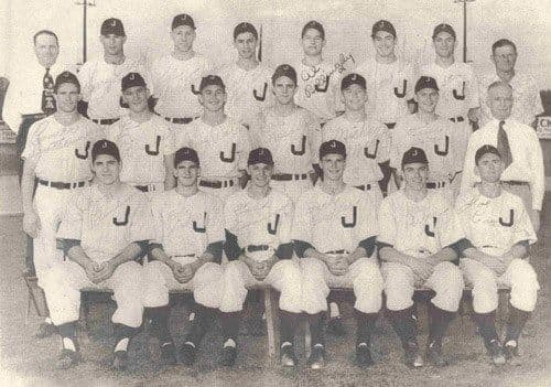 The Joplin Miners, 1950: Mickey Mantle is located on the second row, fifth player from the left.