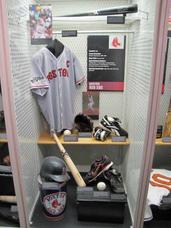 Red Sox locker