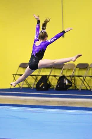 Level 6 Girls Gymnastics Floor Routine (1/5)