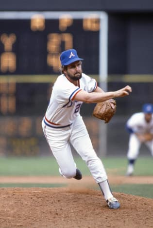Gene Garber - His exaggerated windup intrigued fans and players alike.