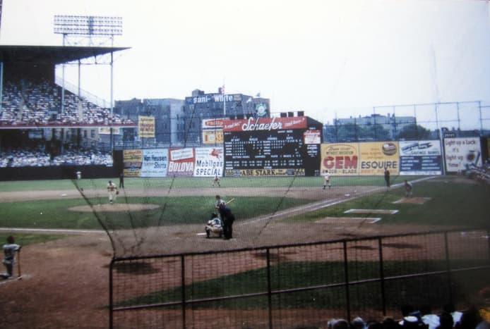 Ebbets Field, 1955.