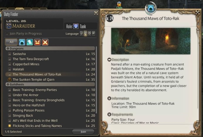 Guildhests offer a small amount of Gil, but can quickly be done.