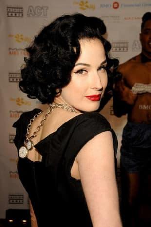 very short female celebrity curly hair styles