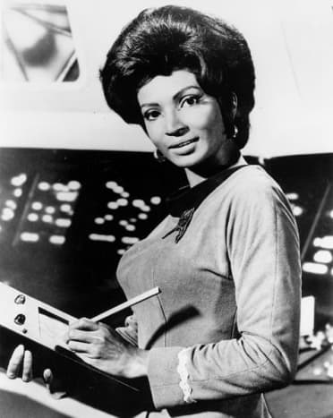Ms. Nichols recruited for NASA astronauts from the 1970s - 1980s.