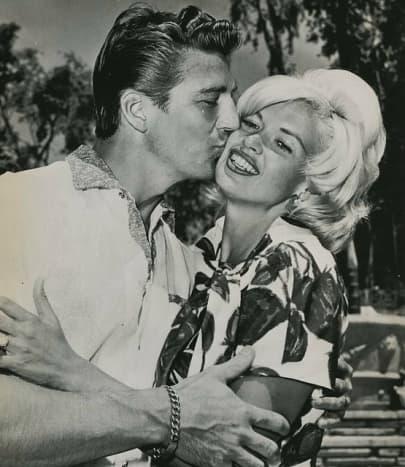 Mariska's mom and Dad in 1962.