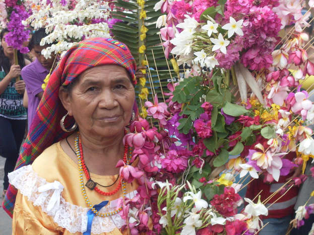 An indigenous woman from El Salvador.