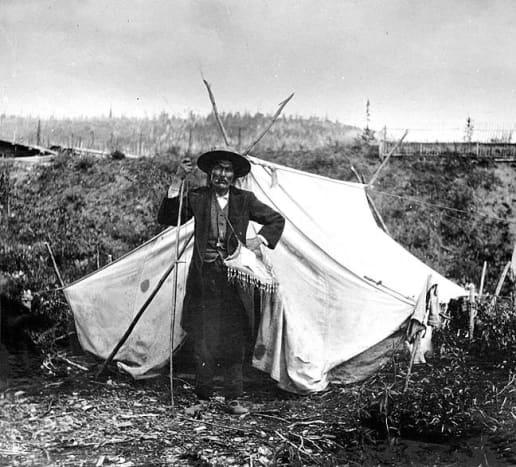 Chief Isaac in the Yukon