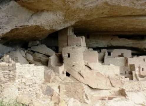 Pueblo Culture ruins near Pueblo, Colorado.