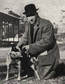 Kaleski with a Cattle Dog