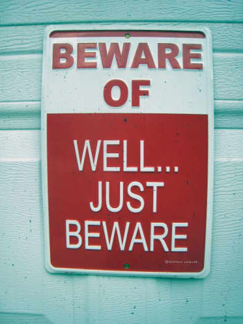 Having grown up near Philadelphia, where this sign was photographed, I can verify that this is sound advice.