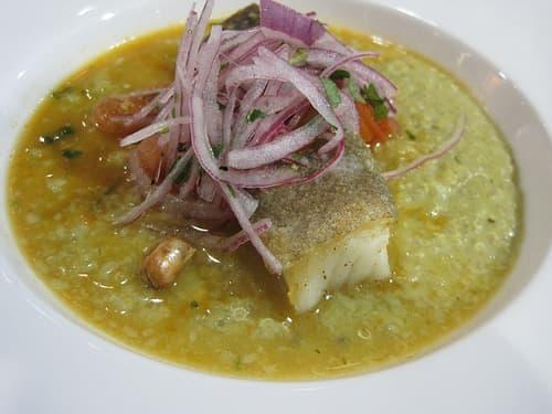 Cod with Quinoa Risotto