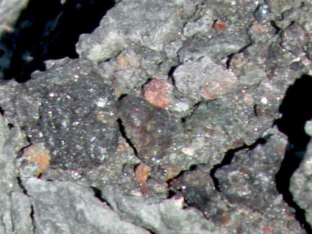 Rocks in the desert near Quartzsite.
