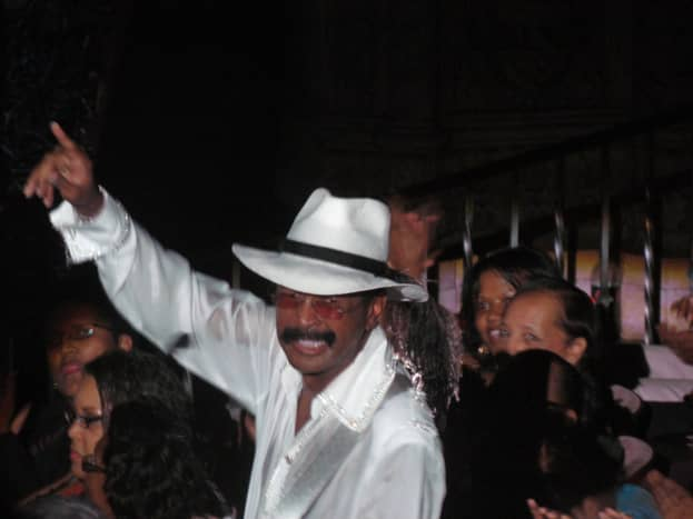 Larry Graham, demonstrates his versatility through song, instrumentality and audience appreciation.