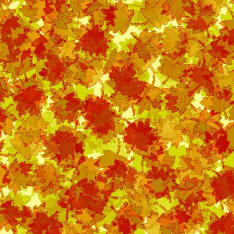 Fall leaves pattern.