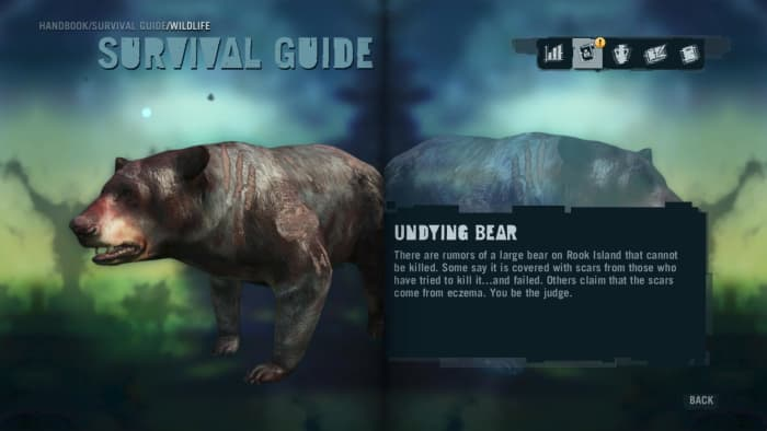 Far Cry 3 Crafting Guide - Extended Rucksack: Handbook Entry.