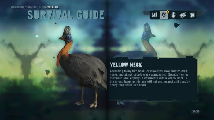 Far Cry 3 Crafting Guide - Extended Fuel Sling: Handbook Entry.
