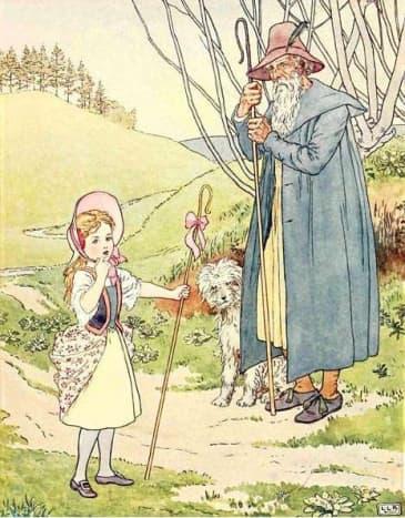 Little Bo Peep, nursery rhyme