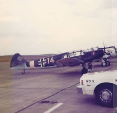 A Bf 108 of the CAF, circa 1980.