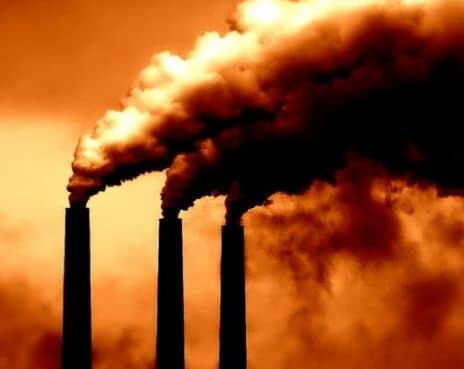 Static charges are used to remove dust and other pollutants in smokestacks