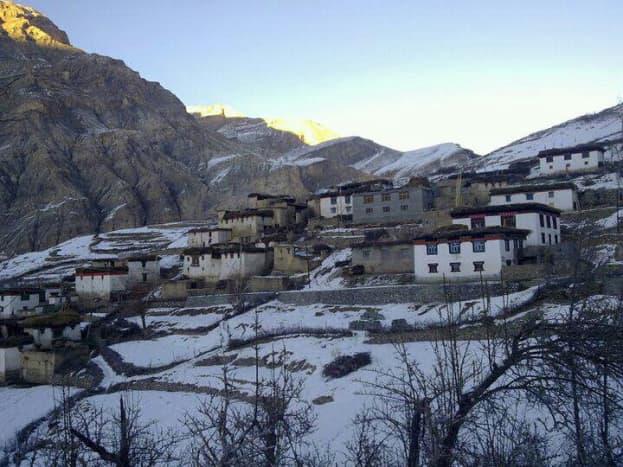 The village Kibber