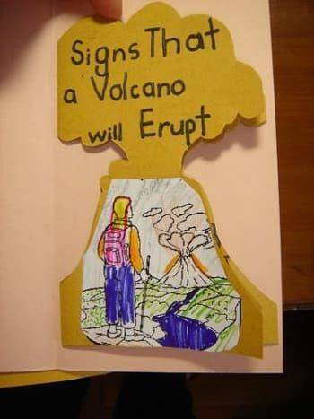 volcano trifold