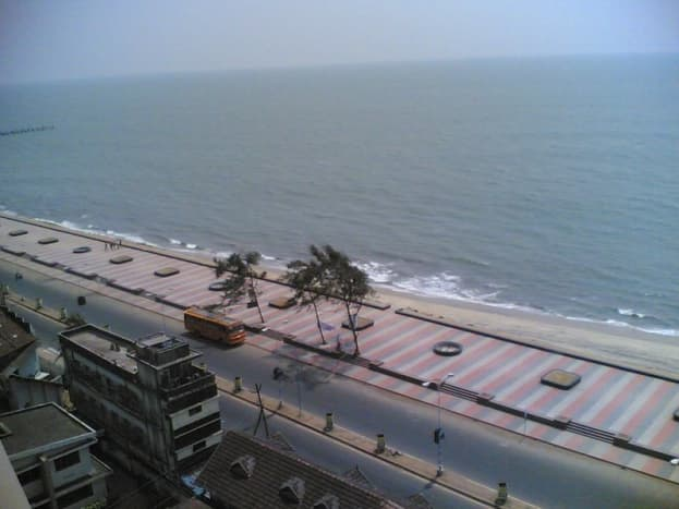 The beautiful Kozhikode Beach