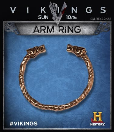 The Arm ring is an oath to the Jarl (or earl)