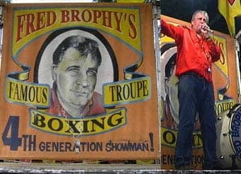 Brophy's Boxing Troupe