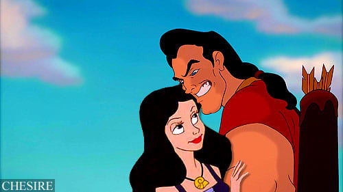 """""""Kill the Beast Get the Girl"""" Isn't that what Heroes Do? Gaston might be sassy but he sure gets the job done."""