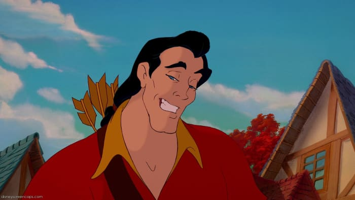"""Yes Gaston can sometimes be a macho jocky muscle head. But Think about it: Looks: Check. Mucles: Check. Flamboyance: Check. Ladies Always Falling For You: Check. I think we have a """"Hero"""" in our Presence."""