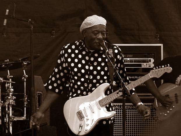 Buddy Guy at Indy Ribfest.  Photo by Blake Flannery