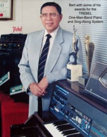 ROBERTO DEL ROSARIO, the Filipino inventor credited for the KARAOKE SING ALONG SYSTEM.