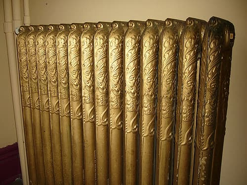 Old-fashioned steam heat radiators can be responsible for many unsettling noises