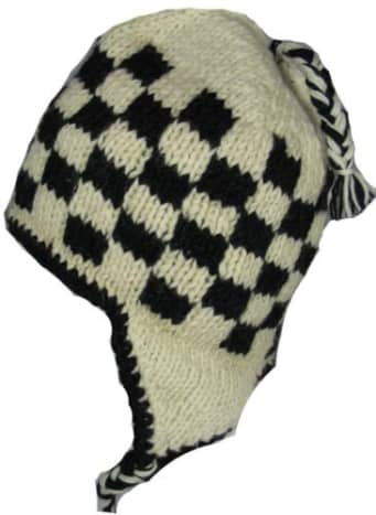 Traditional beanie with ear flaps
