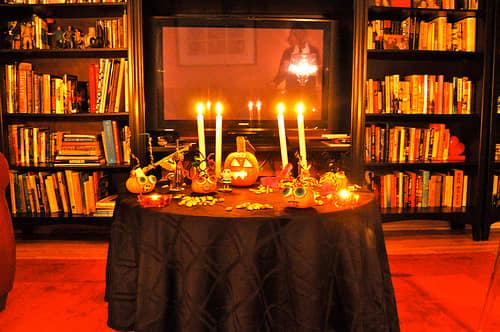 Low Spooky Lighting is a must!