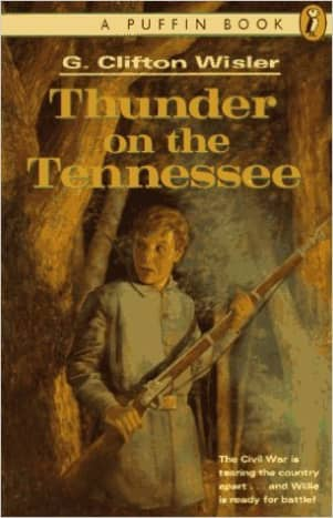 Thunder on the Tennessee by G. Clifton Wisler - Book images are from amazon.com.