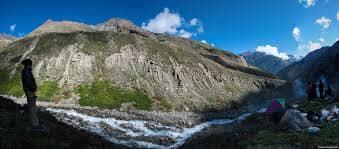 Camping at Kinnaur Kailash Parikrama trek