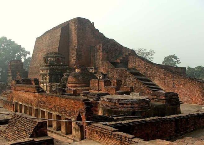 The great library of Nalanda University