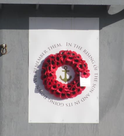 WE REMEMBER THEM IN THE RISING OF THE SUN AND IN ITS GOING DOWN