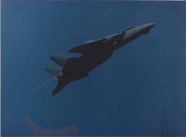 An F-14 in flight
