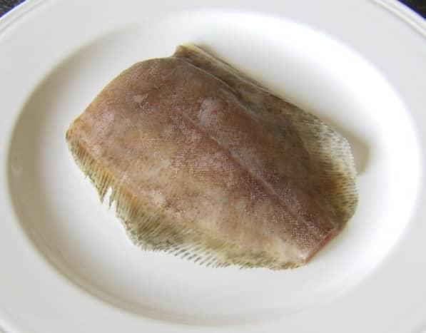 Gutted lemon sole