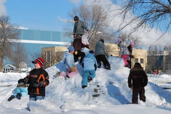 Ice Sculptures-Smokey Bear park