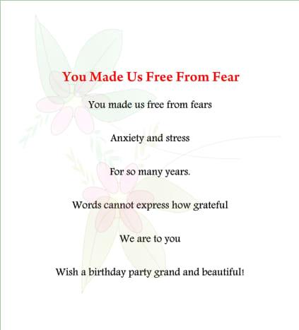 Mom birthday poem