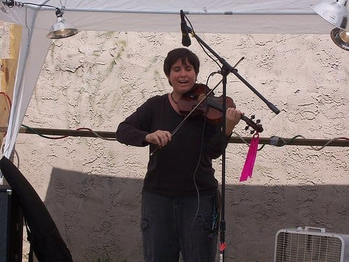 Violin can be a great solo instrument for the praise team.