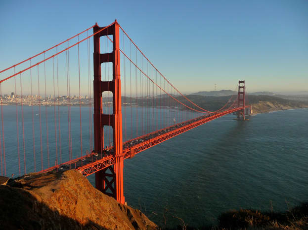 The use of metals dominates the construction industry. The Golden Gate Bridge uses the tensile strength of steel to support the massive structure.